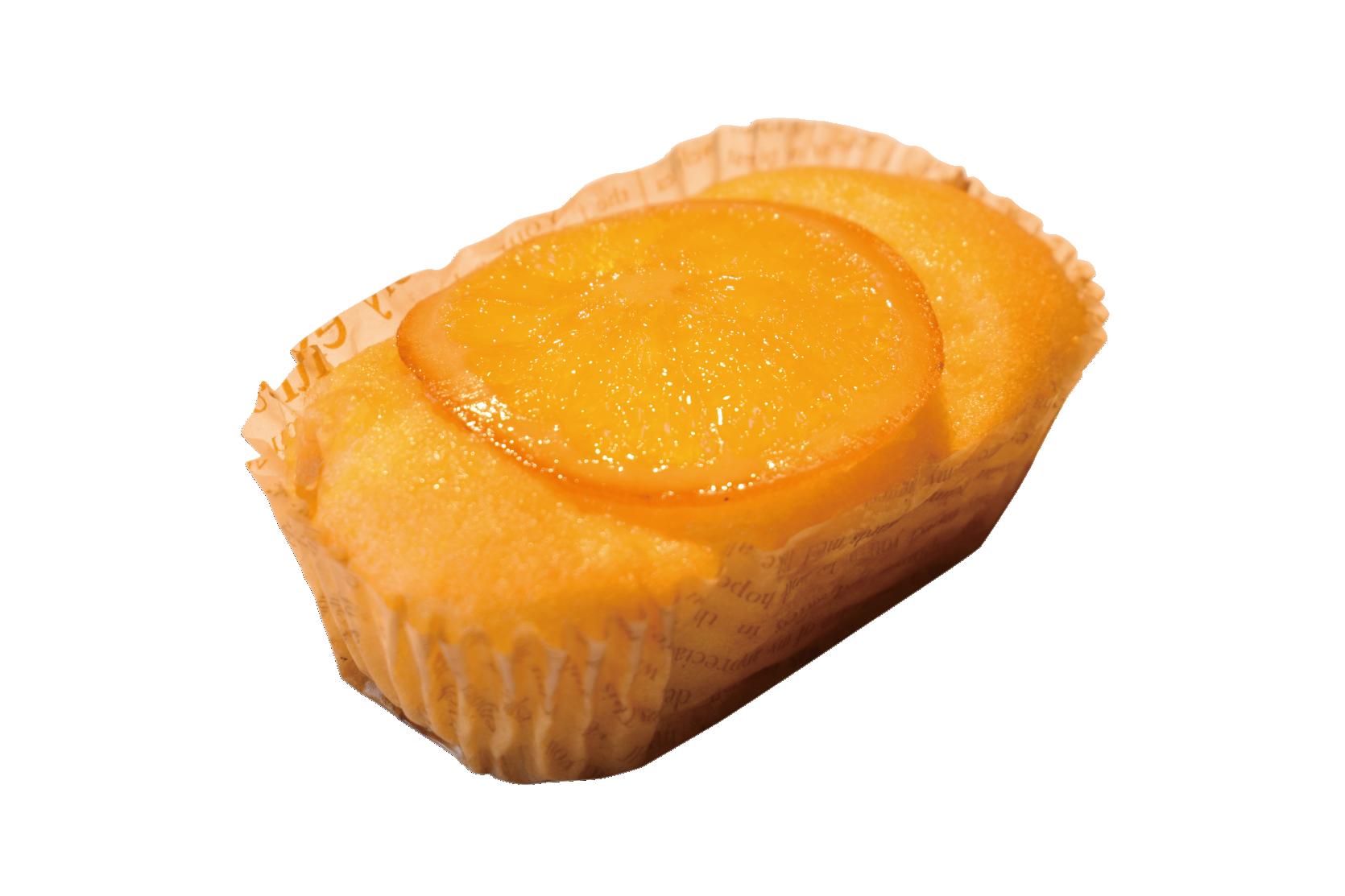 ヨンブンノヨンゆずとネーブルオレンジケーキ中身