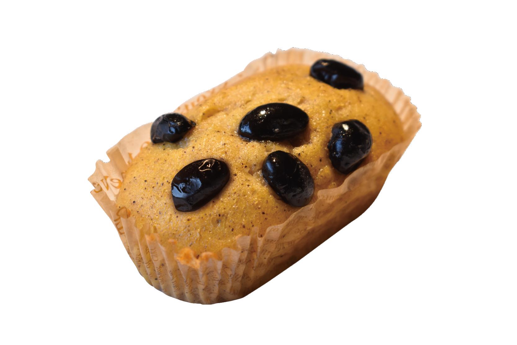 ヨンブンノヨン黒豆ときなこケーキ中身