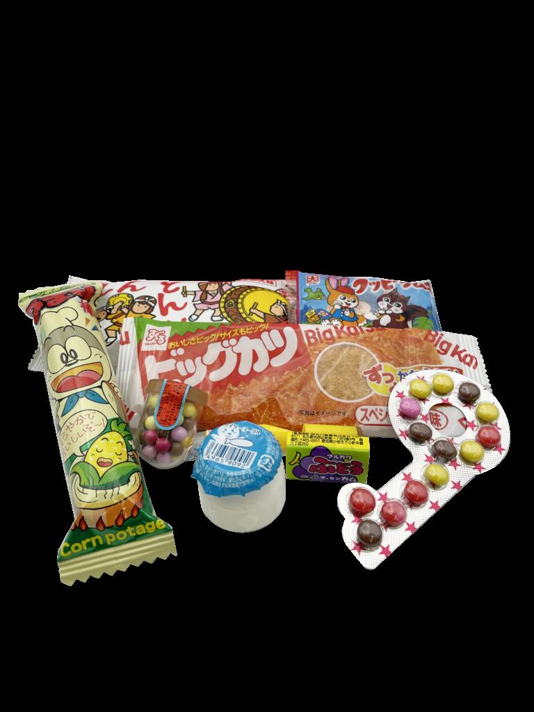 駄菓子ランチパック菓子